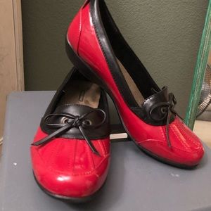 Classy Red & Black Shoes
